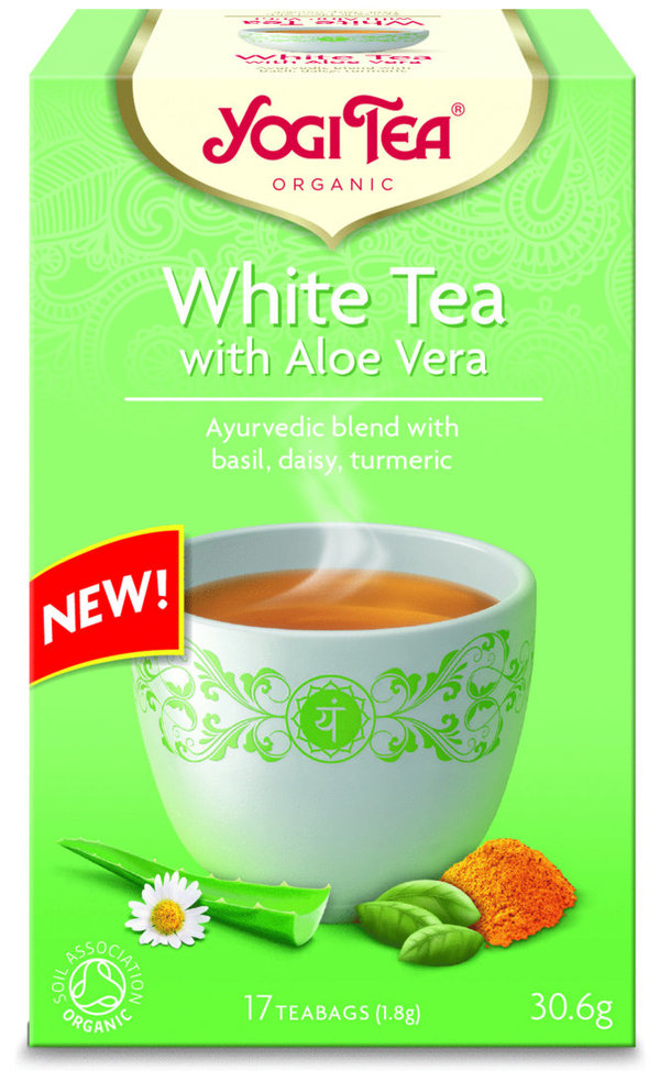 Yogi Tea White Tea with Aloe Vera